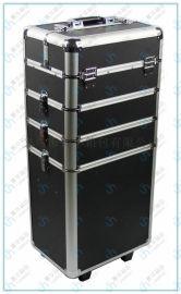 廠家直銷萬向輪拉杆行李箱手提包旅行箱大鋁合金化妝箱