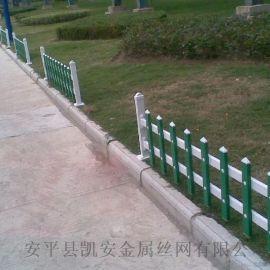 铁艺塑钢护栏 pvc绿化园艺护栏 公园护栏 热镀锌护栏
