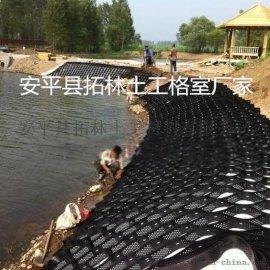 河道治理土工格室 边坡保护约束系统 蜂巢土工格室厂家