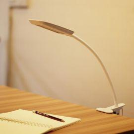 创意大号夹子可折叠台灯读书灯管简约卧室床头充电学习护眼led灯