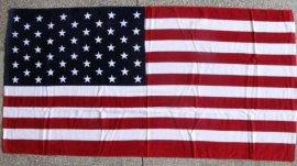 国旗沙滩巾