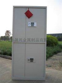 钢制对开门保密柜 分体双节保密双开门办公文件资料