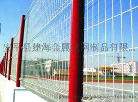厂家直销,桃型柱护栏网