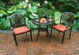 花园家具铸铝桌椅 户外铸铝桌椅 别墅户外铸铝桌椅图片