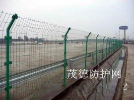 河道防护网@二道河安全防护网@双边铁丝防护网厂家