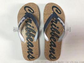 【厂家直销】夏季男士木纹人字拖 拖鞋 沙滩鞋 简约 防滑外穿 修改