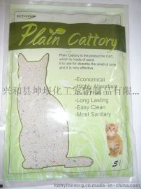 膨润土猫砂1mm-4mm cat litter