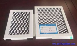 供应杭州铝板网 金属网格铝板 铝板冲孔网