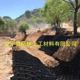 蜂窝土工格室生产厂家50-1000三维网状格室河道治理用土工格室