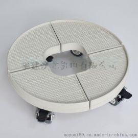 圆柱椭圆形空调底座加高架格力美的海尔不锈钢腿可调节柜机支托架