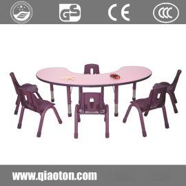 巧童QT504幼儿园桌子儿童塑料椅