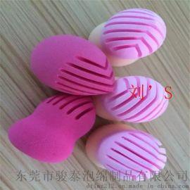 骏泰厂商直供出口欧美品质SBR葫芦粉扑 经抗菌处理