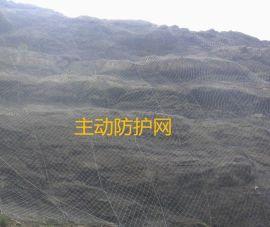 山体防落石边坡防护网