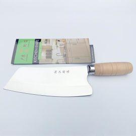 阳江家用木柄菜刀 厨师刀 家用厨刀 斩切刀 锋利耐用