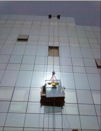 换高空玻璃 更换幕墙大板玻璃