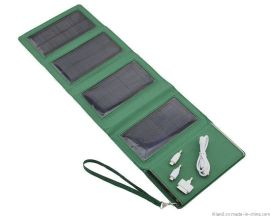 太阳能移动电源折叠包 大功率万能充电宝 户外运动型