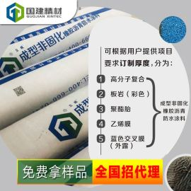 成型非固化橡胶沥青防水涂料+地下通道防水防腐+泳池防水