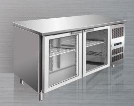 FIRSCOOL 佛斯科 双玻璃门厨房工作台