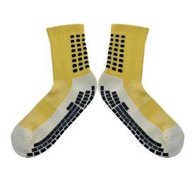 瑜伽袜 外贸订单JUMP蹦床袜防滑点胶 篮球运动点胶袜 袜厂生产