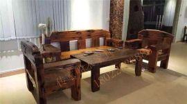 船木家具沙发4件套,实木大沙发,厂家现货热销