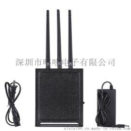 大功率2.4G5.1G5.8G无人机信号屏蔽器wifi信号屏蔽器无线信号