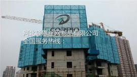 隆恩建筑工地提升架爬架网