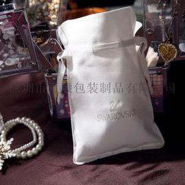 工廠定做  色丁束口袋  首飾文玩抽繩束口袋  包裝袋 防塵布袋子