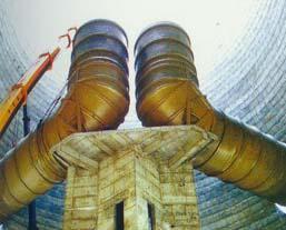 DN10-25000 玻璃钢烟塔合一工程 玻璃钢烟囱 高耐温 玻璃钢烟道 玻璃钢塔器