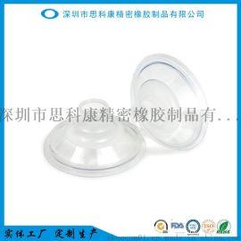 工厂定制生产吸奶器配件液体硅胶花瓣按摩乳垫圆形垫