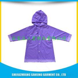 三星工厂生产PVC雨衣,儿童雨衣
