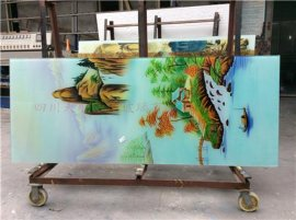 天顺艺玻玻璃厂定做艺术玻璃
