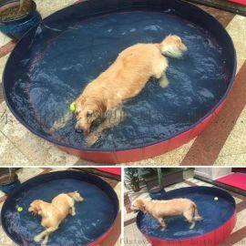 宠物水池 宠物浴盆 可折叠便携式宠物水池