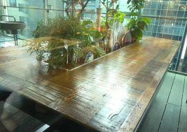 日本风情古木地板 船甲板 旧家具老木料 自然风化松木硬杂木复合地板