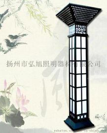 揚州弘旭銷售3米室外園林景觀燈柱方燈戶外歐式別墅防水庭院燈公園草坪燈