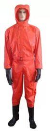 半封閉環氧乙烷防護服(礦山救援空呼內置式阻燃防毒防化服)