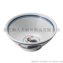 shunta美耐皿密胺仿瓷餐具晨鸣拉面碗GM15808-06