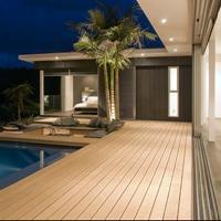 廠家直供實心塑木板140*12 碼頭棧道鋪板 木塑護牆板 耐火防水防腐