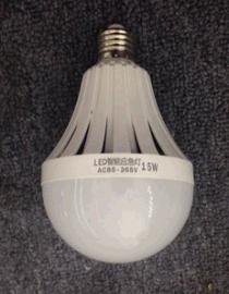 LED应急灯泡智能球泡灯7w家用9w遇水手摸就亮停电亮15WE27螺口12W