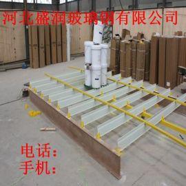 高强度玻璃钢地板支撑梁 拉挤地板梁