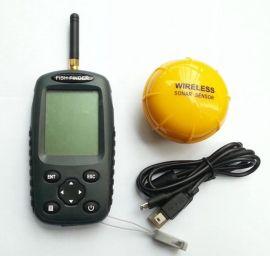外貿出口 英文俄文防水探魚器 無線fish finder