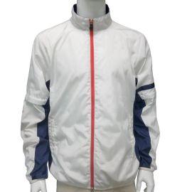 秋冬款高尔夫服饰 袖子可拆卸式男式户外运动风衣外套
