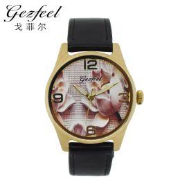 戈菲尔mwn010时尚休闲木质石英手表木质手表