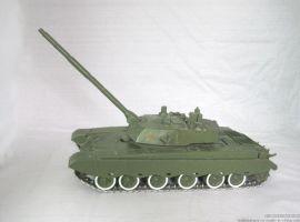 锌合金军事坦克模型摆件