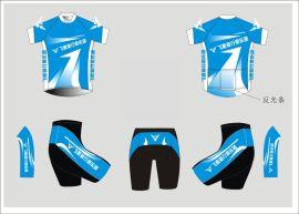 骑行短袖套装自行车服个性定制户外运动服定制速干透气排汗