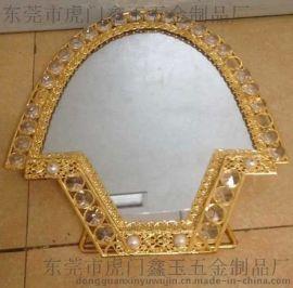 东莞仿金梳妆镜子生产厂家