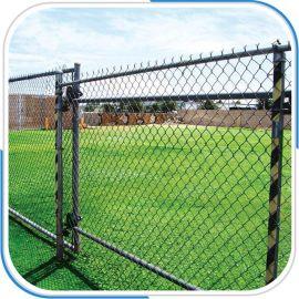 铁丝围栏网涂塑包塑铁丝网镀锌勾花网厂家