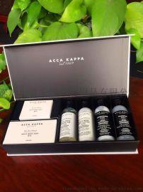艾克卡帕(ACCA KAPPA)高端經典旅行洗護套裝6件套洗護套裝