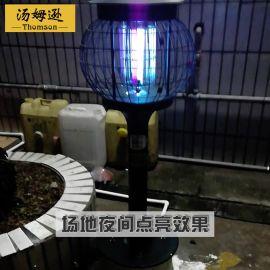 厂家直销 户外草坪灭蚊灯 市电紫外线灭蚊效果好