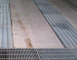 厂家专业生产污水处理厂专用钢格板小区用沟盖板