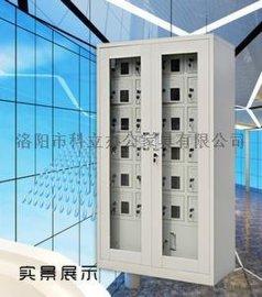 手机柜 公司机械锁手机保存柜价格 会议室40门手机保管柜定制哪里有